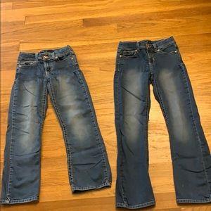 Nice Girls blue jeans.